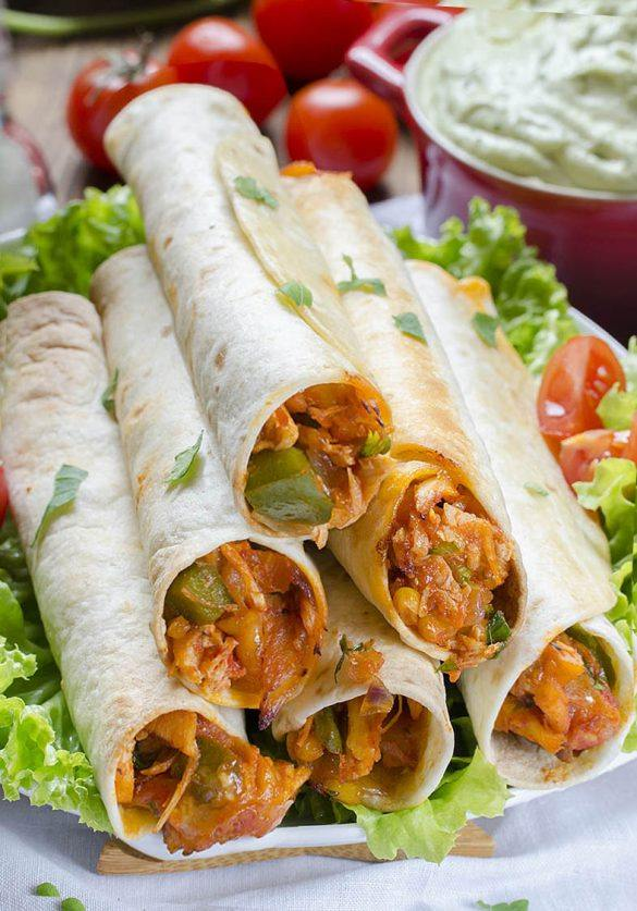 Bunch of Chicken Taquitos Recipe