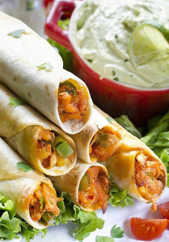 As I said before Easy Chicken Taquitos Recipe is quick and healthy ...