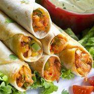 Easy Chicken Taquitos Recipe