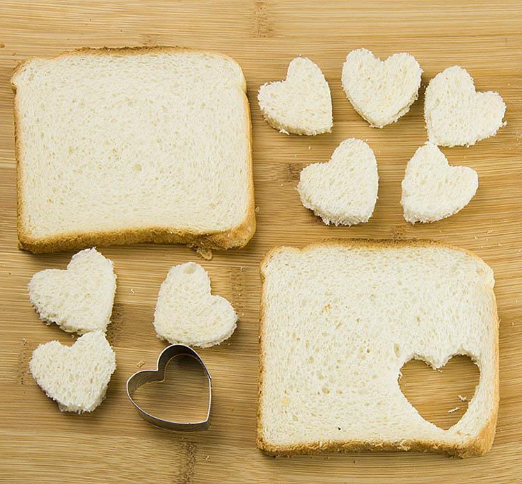 French Tost Churro Bites (Valentines) step 1