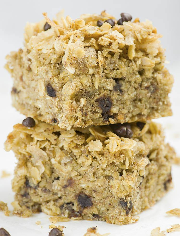 Banana Oatmeal Breakfast Cake 2