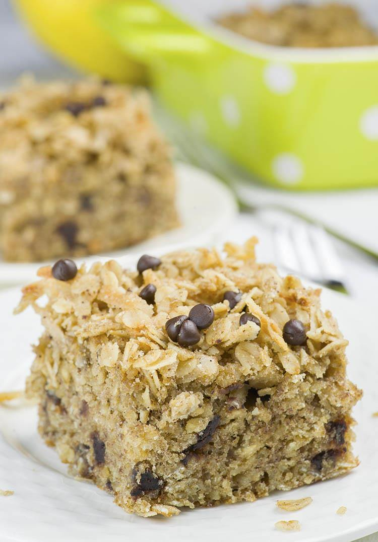 Banana Oatmeal Breakfast Cake 3