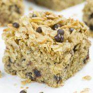 Banana Oatmeal Breakfast Cake