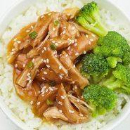 Easy Crockpot Teriyaki Chicken
