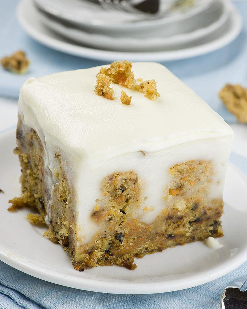If you are looking for new and fun Easter ideas to try this spring, this easy dessert recipe for Carrot Cake Poke Cake is the best Easter treat that you can make for your family.