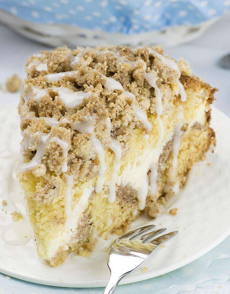 A Simple Sour Cream Crumb Cake