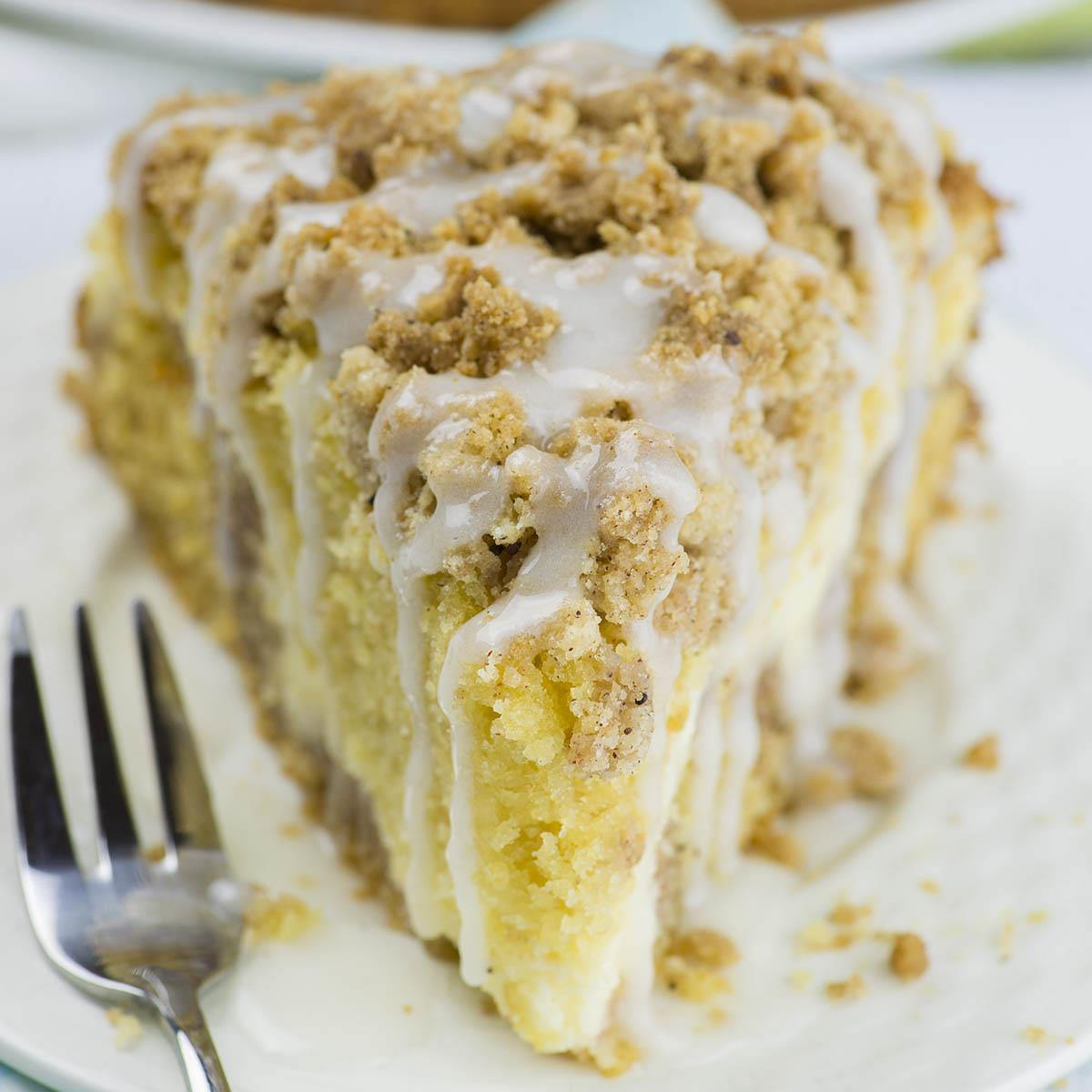 Easy Cinnamon Coffee Cake