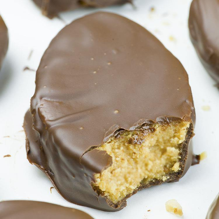 Homemade Chocolate Peanut Butter Eggs Omg Chocolate Desserts