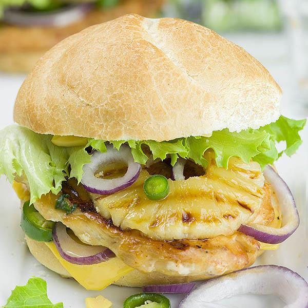 Pineapple Grilled Chicken Sandwich