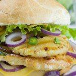 Image of a Pineapple Grilled Chicken Sandwich