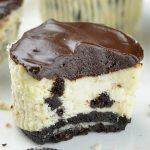 Bitten Mini Oreo Cheesecakes