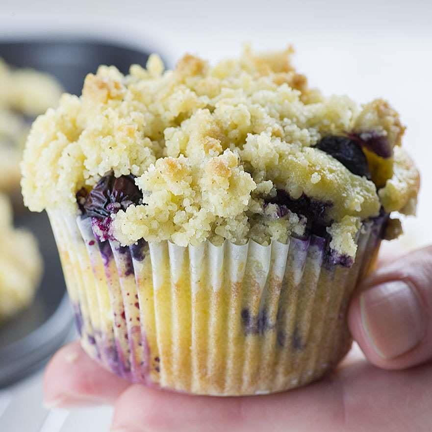 Easy Healthy Blueberry Muffin