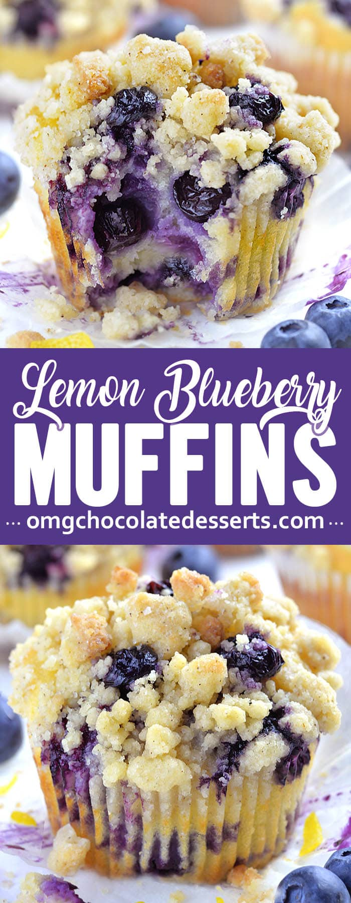 Blueberry Lemon Muffins are a delicious breakfast choice on a spring or summer day. The bright tang of lemon zest and juice mingled with sweet blueberries makes these muffins worth waking up for.