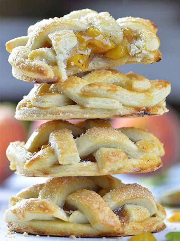Four Peach Pie Cookies