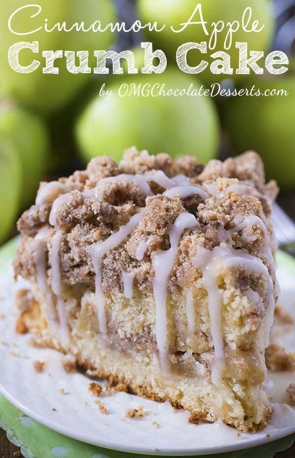 Omg Chocolate Desserts Cinnimon Apple Crumb Cake