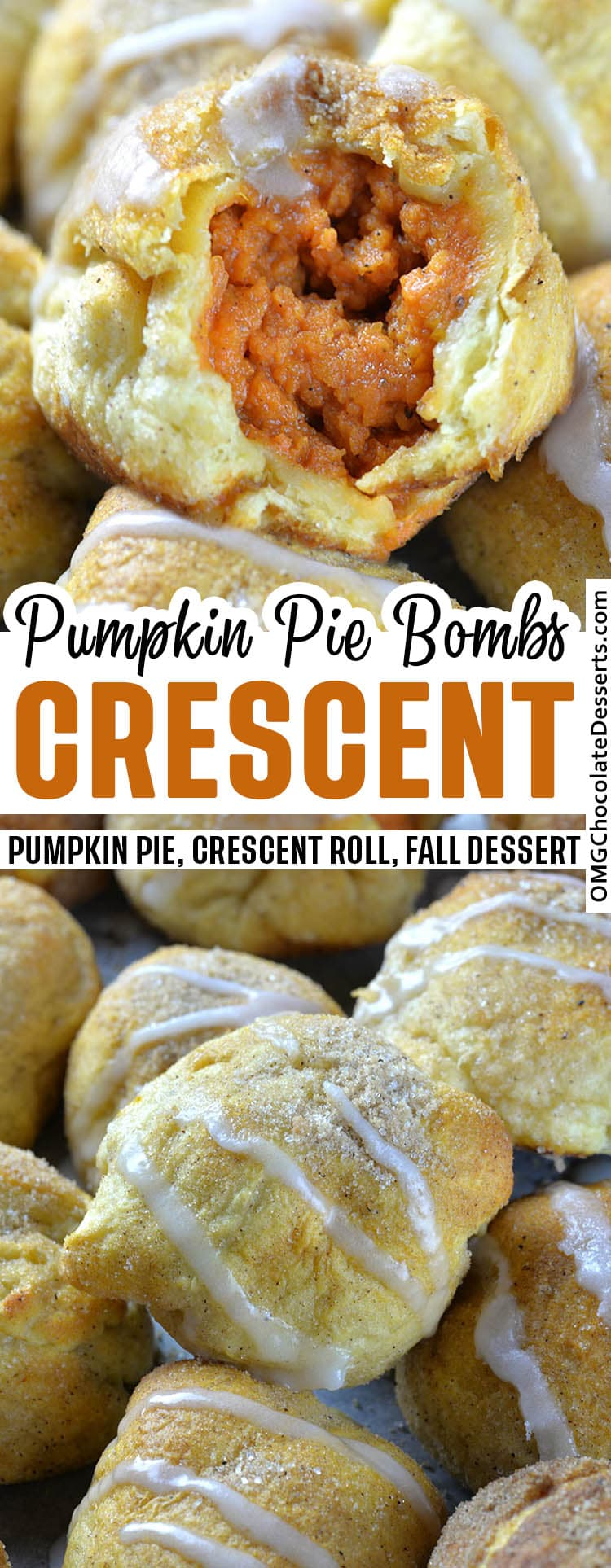 Pumpkin Pie Bombs