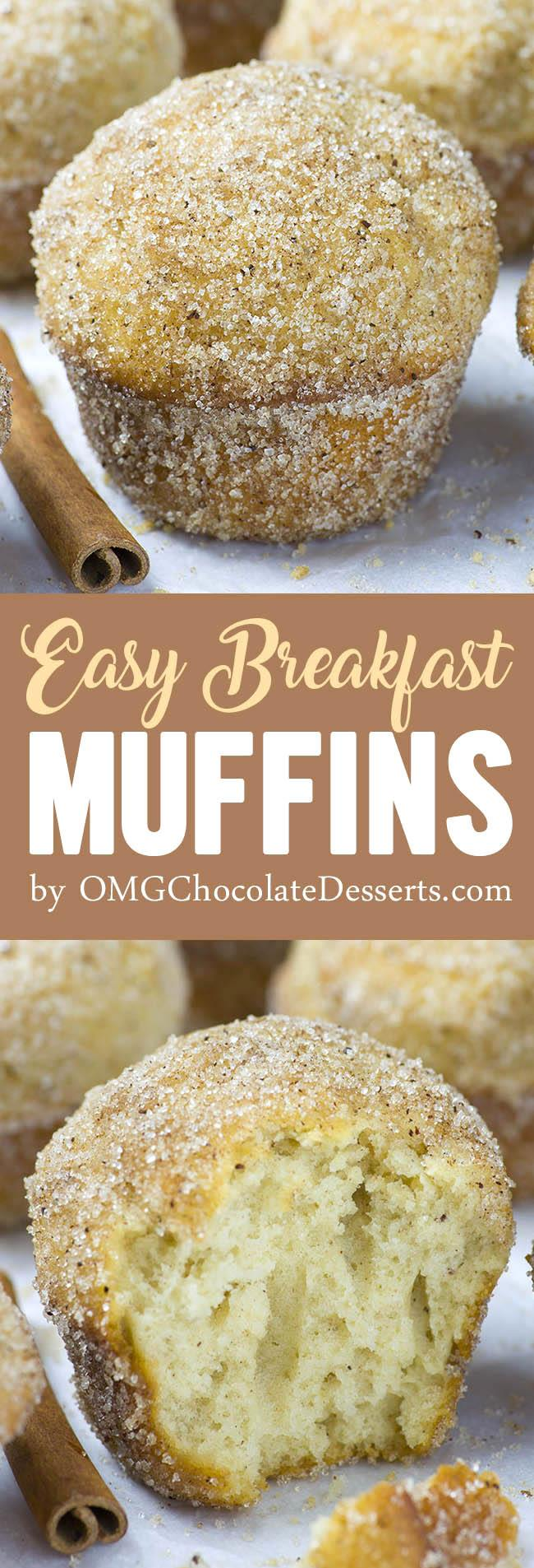 Easy Breakfast Muffins Homemade Make Ahead Breakfast