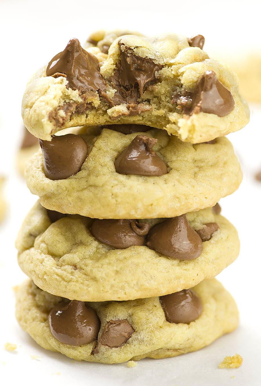 Soft Chocolate Chip Cookies - Moreover, making the best soft chocolate chip cookies from scratch is really simple and easy.