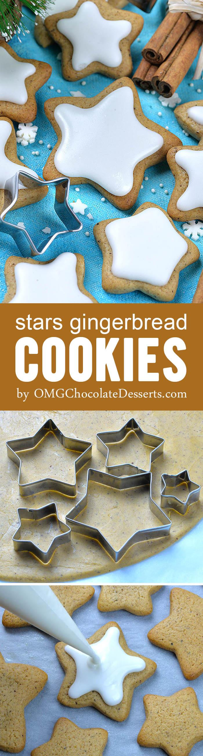 Star Gingerbread Cookies is perfect, delicious, sweet and spicy, easy Christmas cookie recipe you are all looking for.