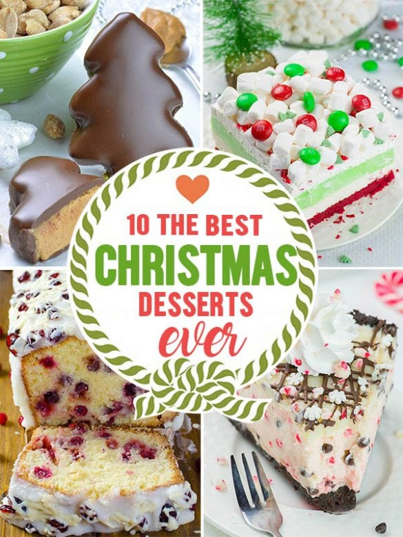 Best Christmas Desserts Ever