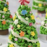 Image of Christmas Tree Krispie Treat