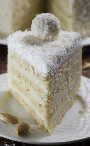 Almond Coconut Cake