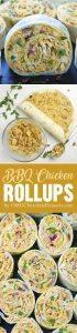 BBQ Chicken Rollups