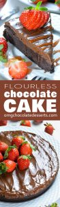 Flourless Chocolate Cake is the best  and the most decadent chocolate cake I've ever tried!!! Every single bite of this cake is extremely rich and fudgy and chocolate glaze takes it over the top!