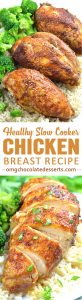 Healthy Slow Cooker Chicken Breast Recipe is an easy and delicious dish to make but packed with such an amazing flavor.