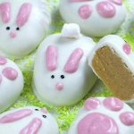 Image of White Chocolate Reese's Easter Bunnies