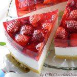 Strawberry Jello Cake Image