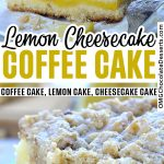 Lemon Crumb Coffee Cake recipe