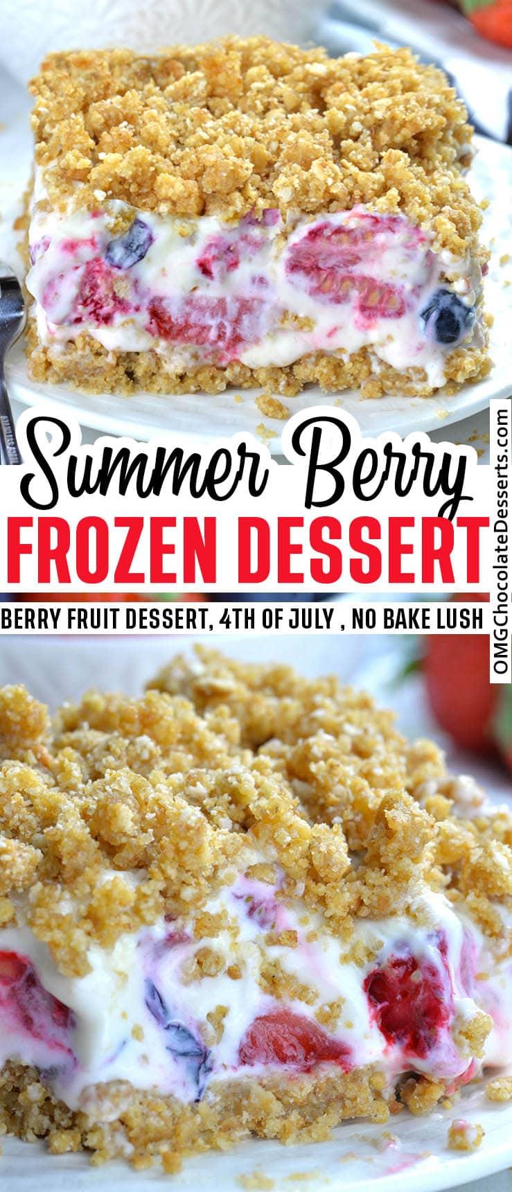 Summer Berry Frozen Dessert