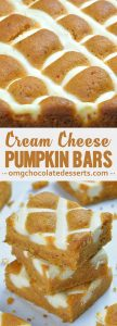 Pumpkin Bars with Cream Cheese are irresistible fall treat! It will be your new favorite and the only fall dessert you need!
