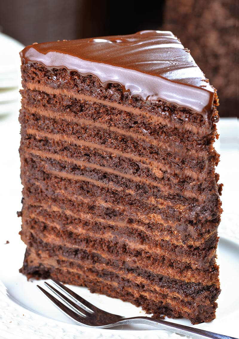 chocolate ganache wedding cake filling recipe 24 layer chocolate cake omg chocolate desserts 12715