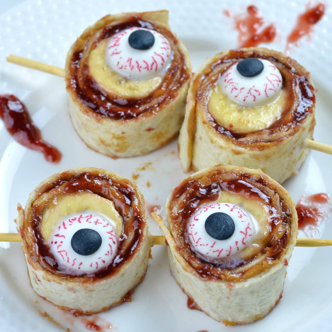 There's no trick to making these quick and easy Banana Sushi Rolls and kids will be thrilled.