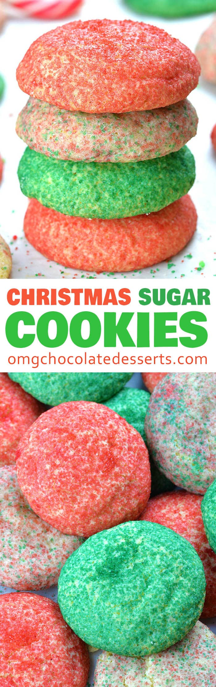 Christmas Sugar cookies are quick and easy dessert with simple ingredients and recipe is very versatile, too.