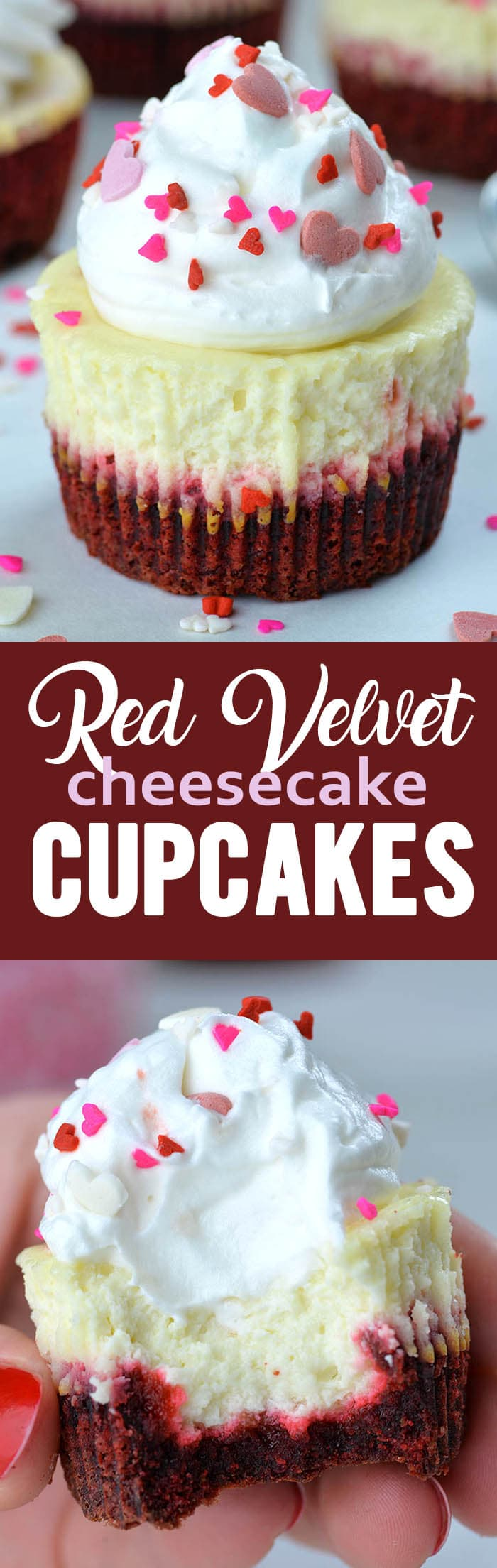 Red Velvet Cheesecake Cupcakes Omg Chocolate Desserts