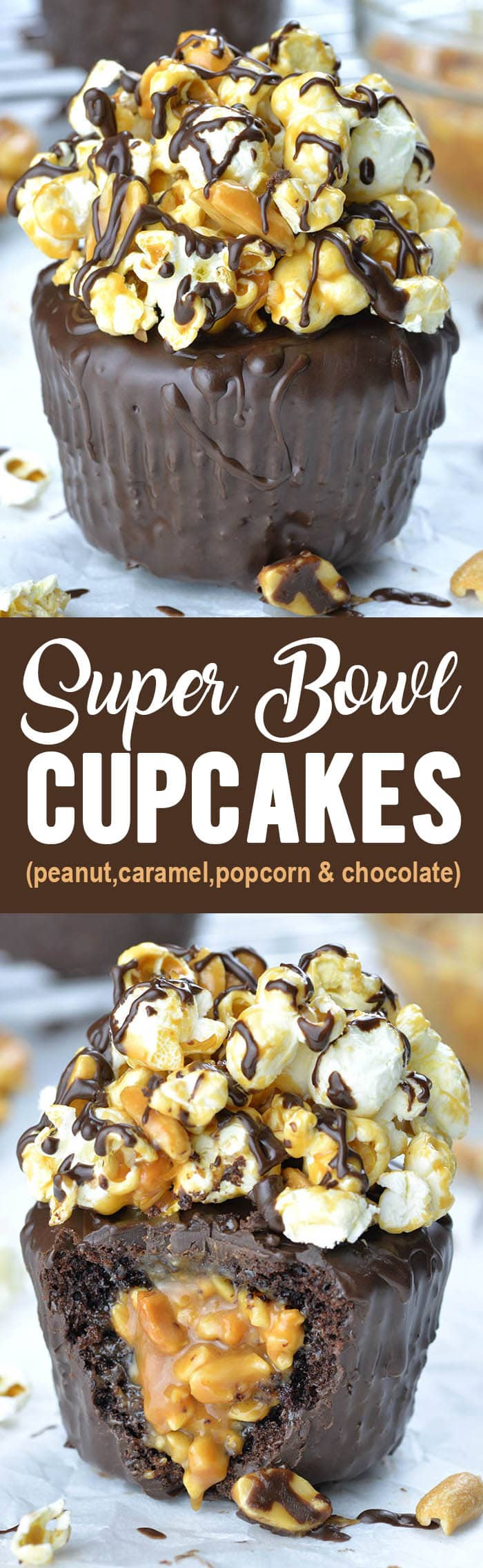 Super Bowl Cupcakes are better than a touchdown!!! If you are hosting Super Bowl party, you'll need delicious dessert for the Big Game!