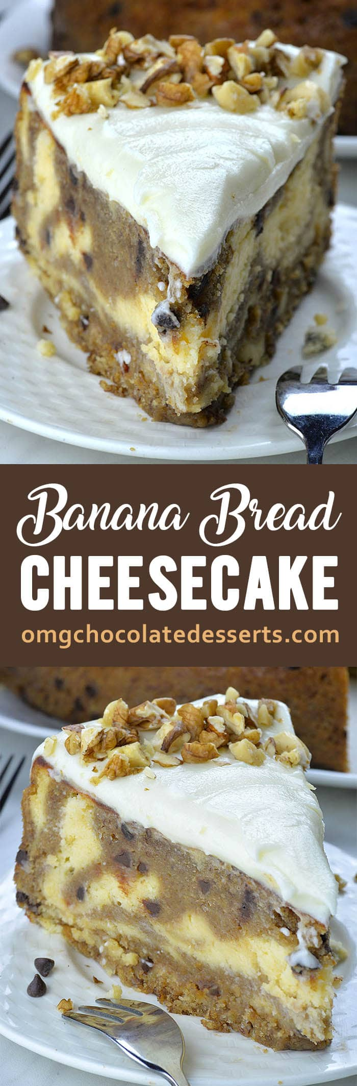 This Banana Bead Cheesecake is such a fun alternative to traditional cheesecake and banana bread. And this two delicacies baked together makes one show-stopper dessert!