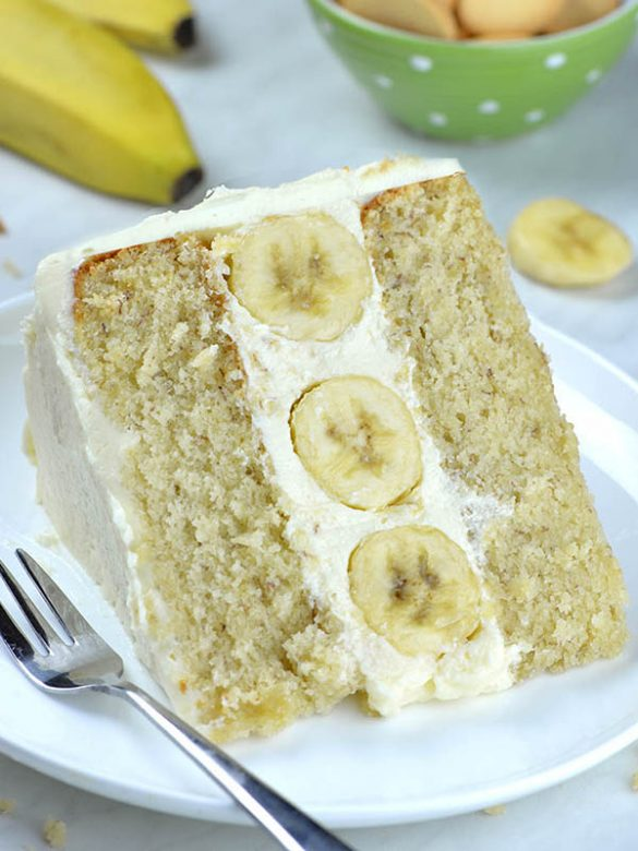 Banana Cake is one of my favorite desserts. Addition of mashed bananas in cake batter, makes it so moist and flavorful.