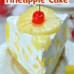 No Bake Pineapple Cake