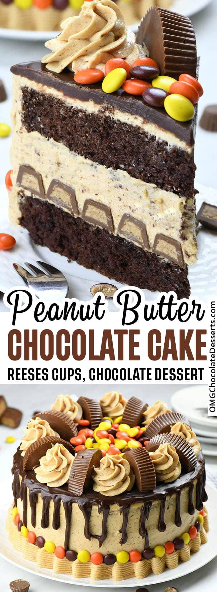 Peanut Butter Chocolate Cake