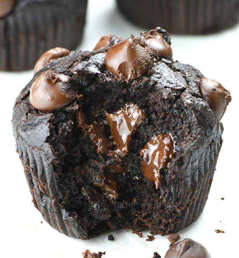 Bitten Skinny Double Chocolate Muffins