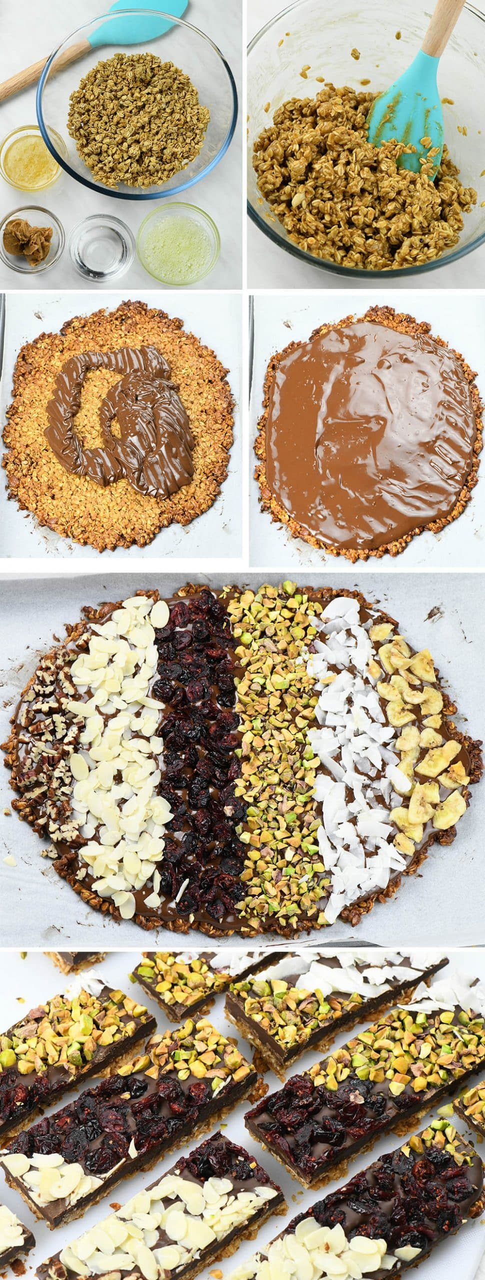 Chocolate Granora Bark (instructions)