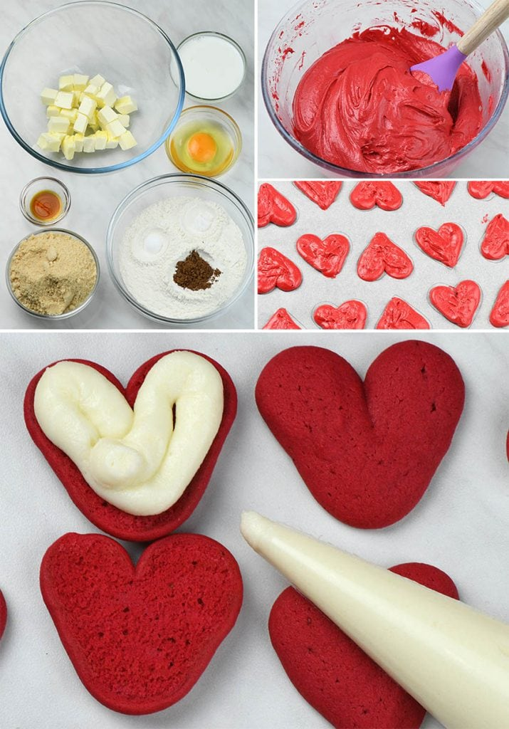 Valentines Whoopie Pies (instructions)