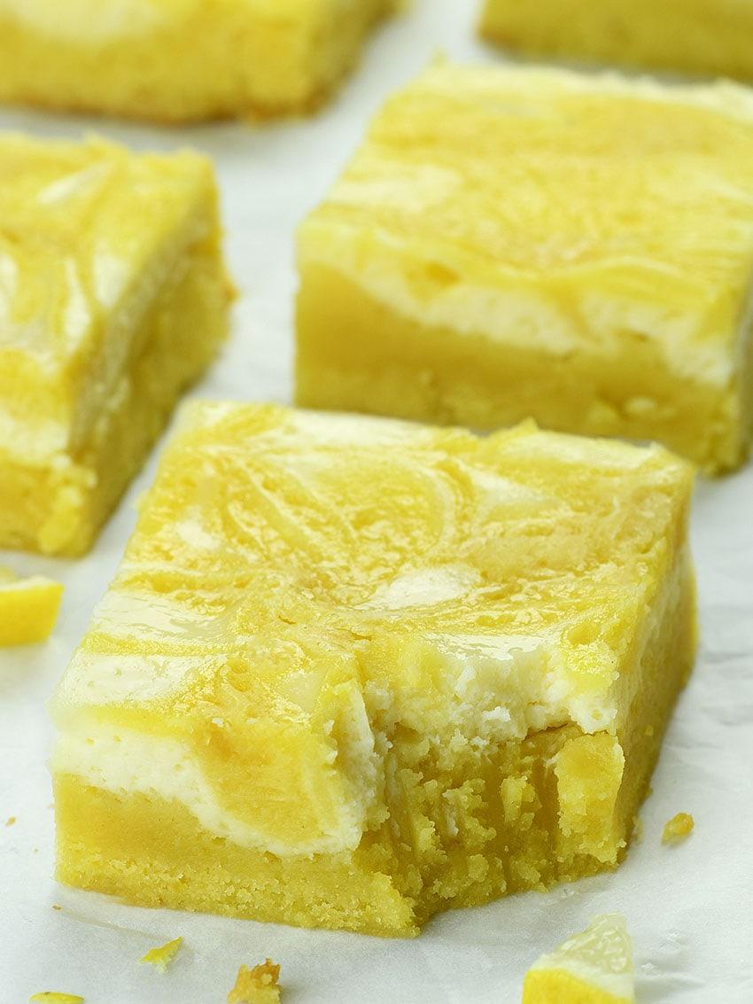 Lemon Cheesecake Brownies
