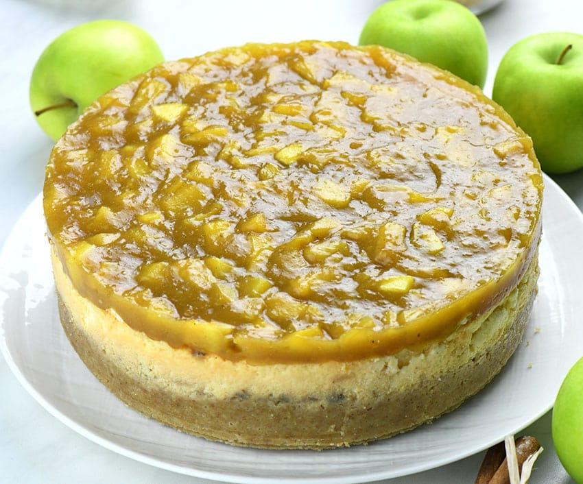 Apple Pie Cheesecake (whole cake)