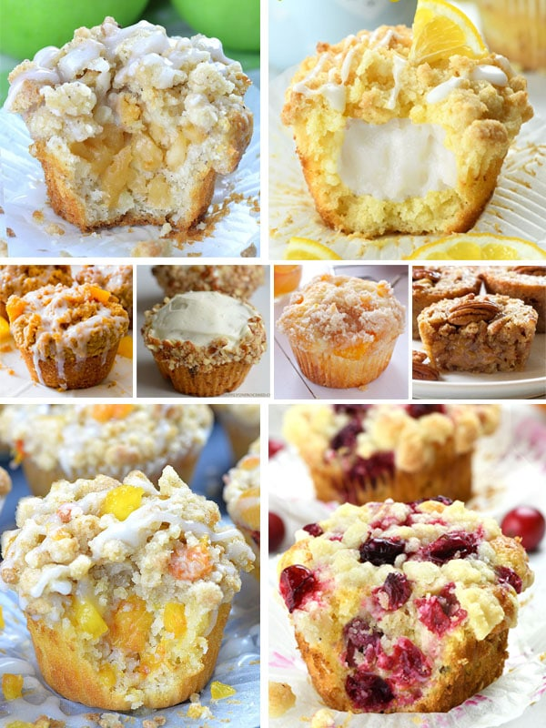 Sixteen Best Ever Coffee Cake Muffins
