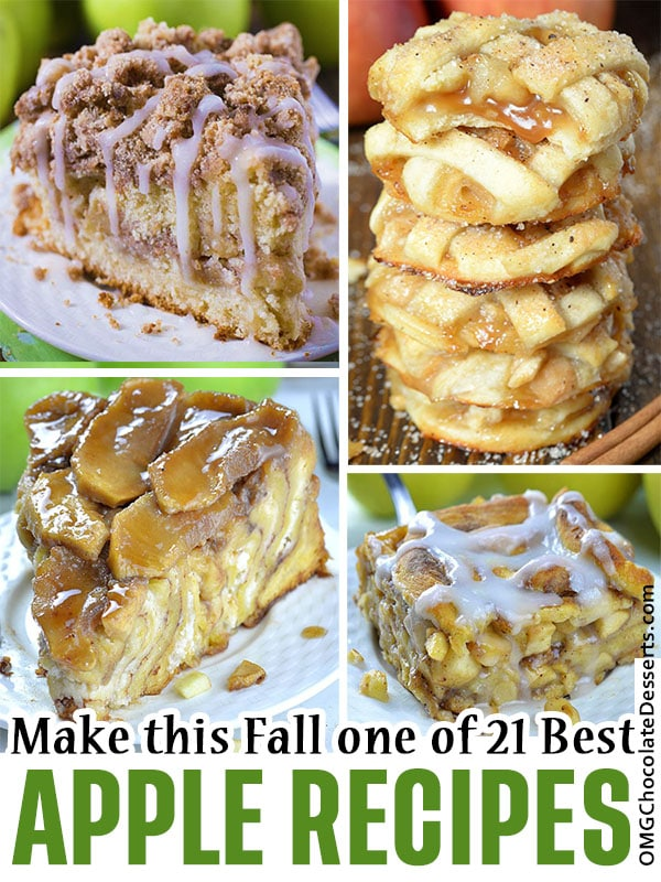 Are you looking for delicious fall apple desserts? Here are over 20 best fall apple desserts that are the perfect way to bake with yummy fall apples. From apple pie to easy apple crisp, there are plenty of apple desserts to choose from.